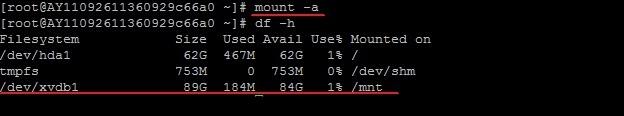 Linux系统挂载数据盘_网络营销